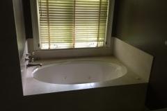 Bath tub before
