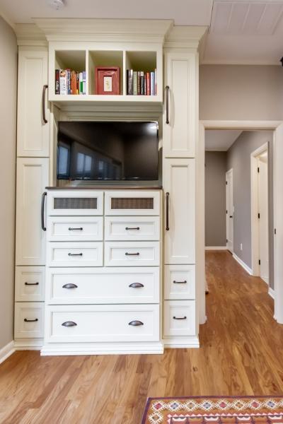 Built-in TV