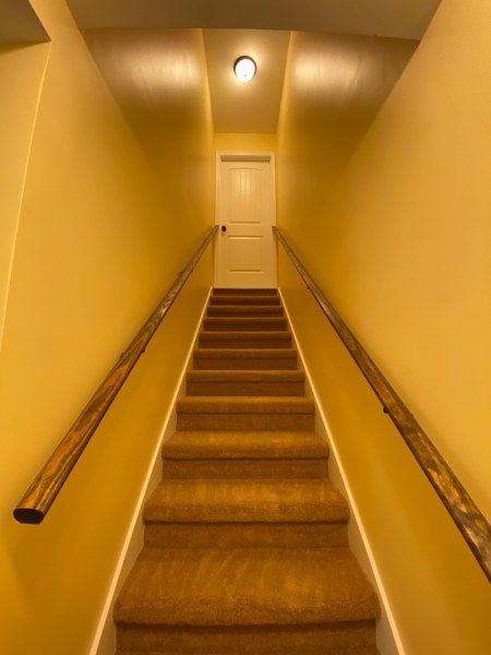 Stairs from basement